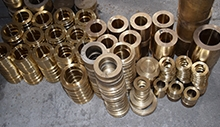 不同锡青铜合金表层氧化膜存在差异